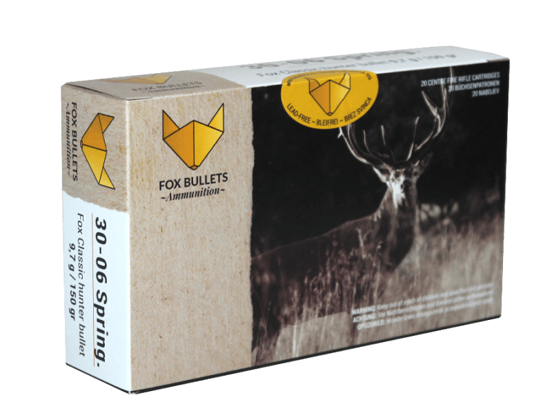 Fox Bullets Ammunition_30-06_front
