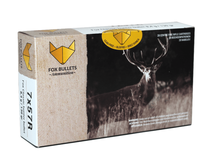 Fox Bullets Ammunition_7x57R_front