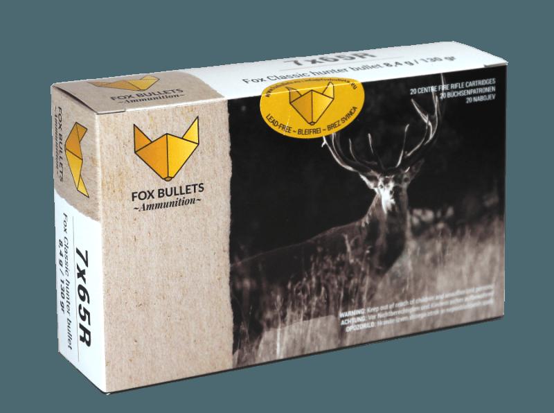 Fox Bullets Ammunition_7x65R_front
