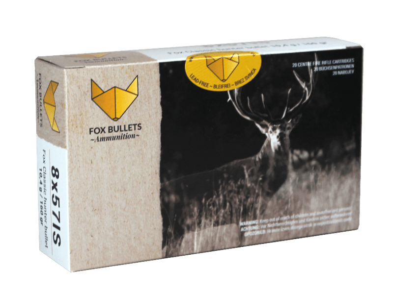 Fox Bullets Ammunition_8x57IS_front