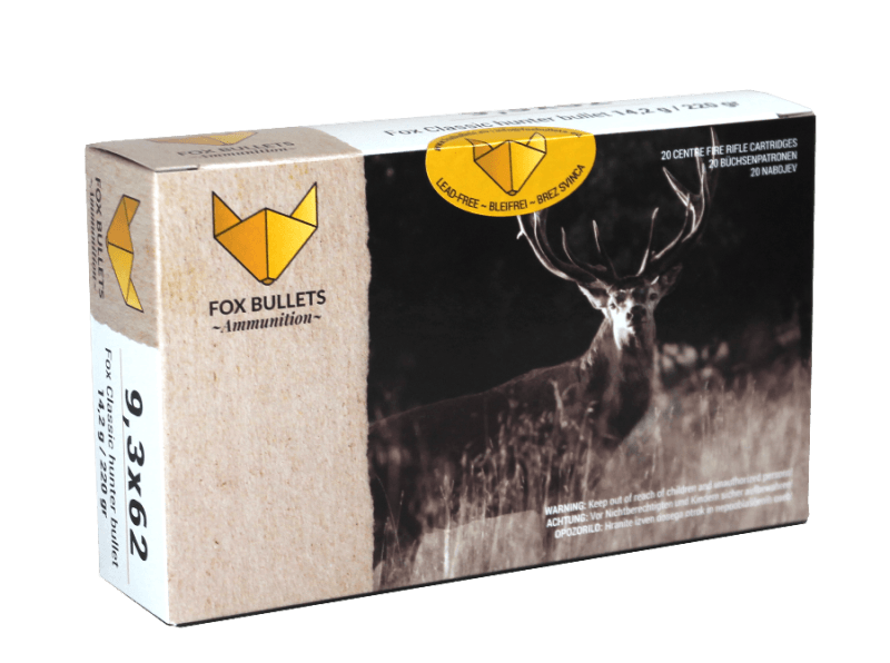Fox Bullets Ammunition_9,3x62_front