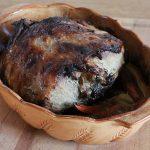 Wild boar roast
