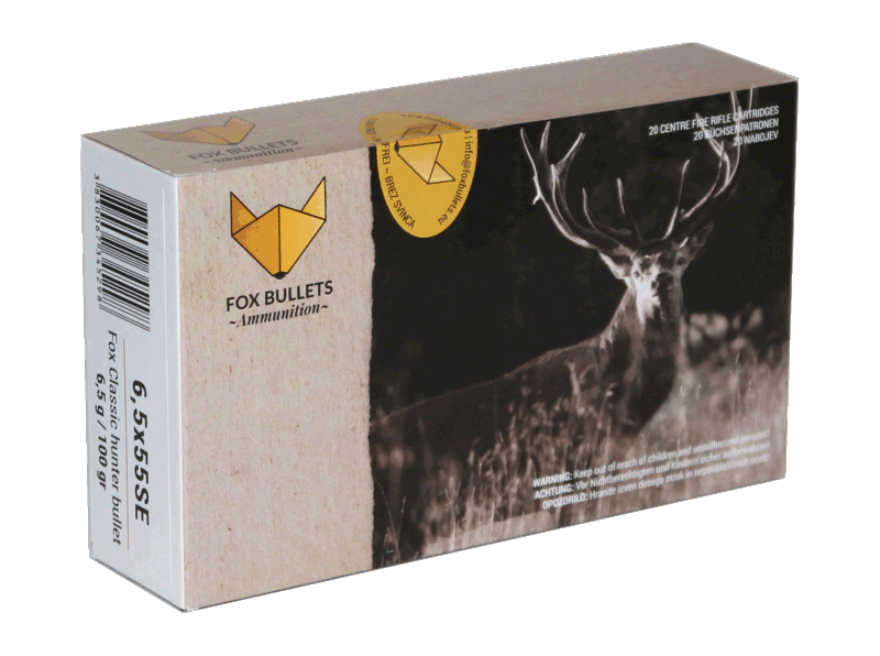 Fox Ammunition_6,5x55SE-100gr_front